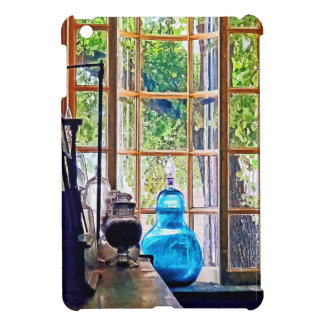 Blue Apothecary Bottle Cover For The iPad Mini