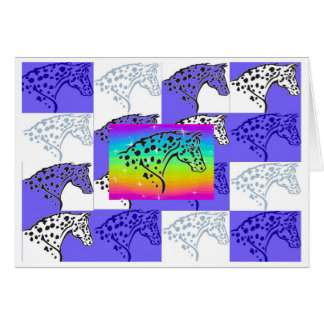 Blue Appy Head Note Card