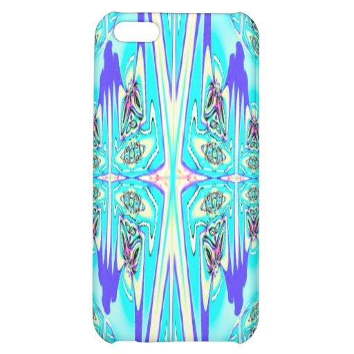 Blue Aqua Abstract Speck Case Cover For iPhone 5C