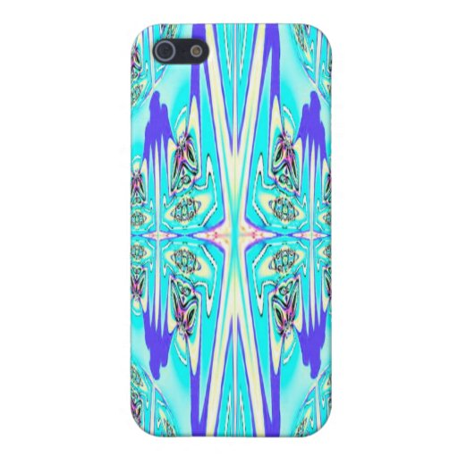 Blue Aqua Abstract Speck Case iPhone 5 Cases