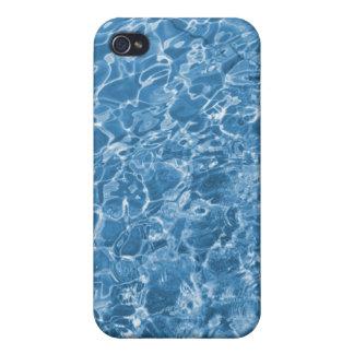 blue aqua iPhone 4 cases