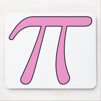 Blue Aqua Pink Hot Baby Light Pi 3.14 symbol Math Mouse Pad