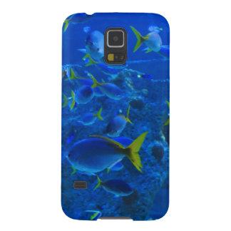 Blue Aquarium Galaxy S5 Cover