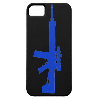 Blue AR-15 iPhone 5 Universal Case