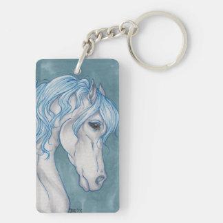 Blue Arabian Keychain