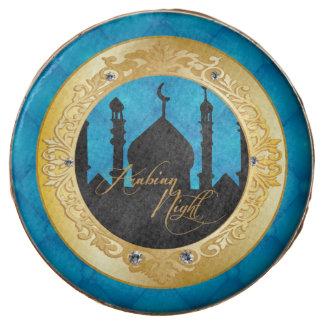 Blue Arabian Night Party, Custom Printed Cookies