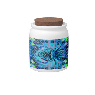 Blue Arachnid Candy Jars