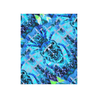 Blue Arachnid Canvas Print
