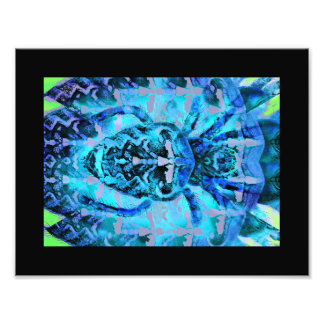 Blue Arachnid Photo Print