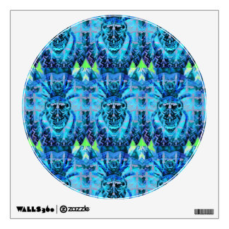 Blue Arachnid Wall Sticker