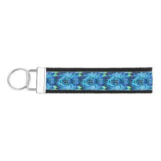 Blue Arachnid Wrist Keychain