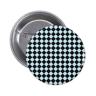 Blue Argyle Button