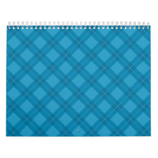 Blue Argyle Calendars