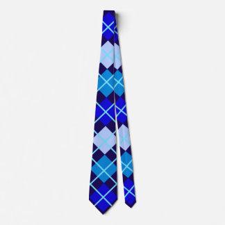 Blue Argyle II Tie