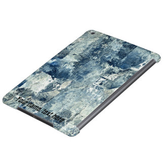 Blue Army Navy Air Force Camouflage iPad Air Case