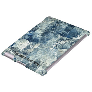Blue Army Navy AirForce Camouflage iPad 2/3/4 Case