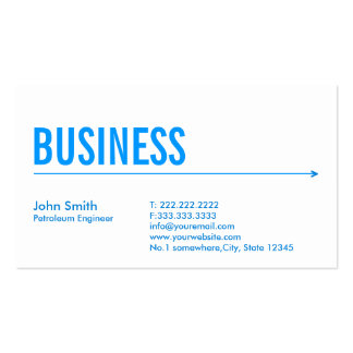 Oil And Gas Business Cards & Templates