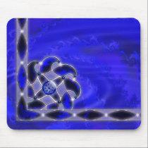 Blue As the Sea Mousepad