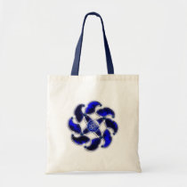 Blue As the Sea Tote Bag