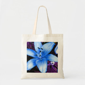 Blue Asiatic Lily Tote Bag