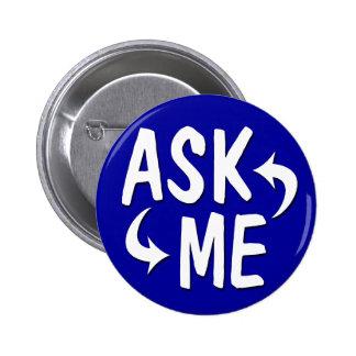 Blue Ask Me Button / Arrows