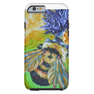 Blue Aster & Bumble Bee iPhone 6 case