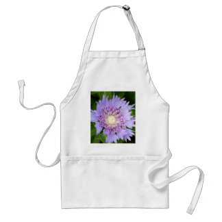 Blue Aster Daisy Adult Apron