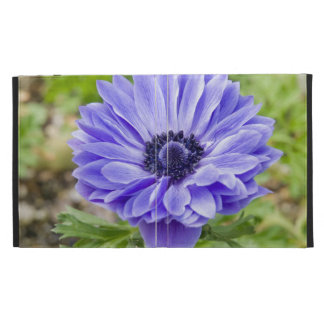 Blue Aster Flowers iPad Case
