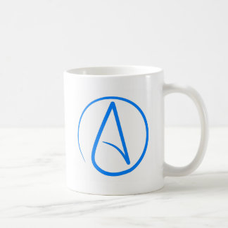 Blue Atheist A Coffee Mug