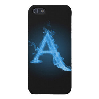 Blue atheist A iPhone SE/5/5s Cover