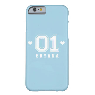 Blue Athletic 01 Girls Sports Phone Case Cover
