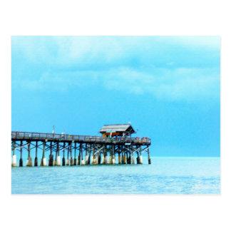 Blue Atlantic Postcard