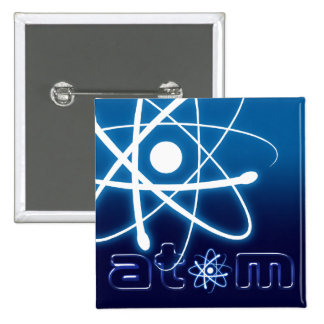Blue Atom - Button