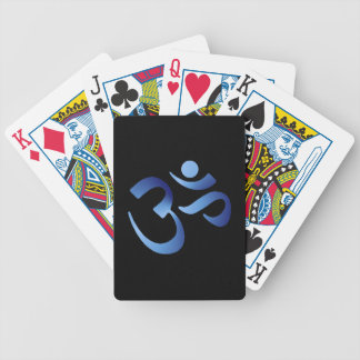 Blue Aum Bicycle Playing Cards