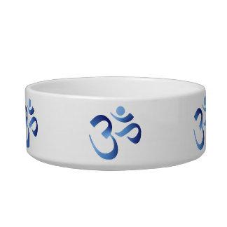 Blue Aum Bowl