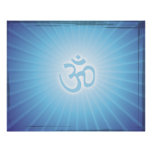 Blue Aum Energy Posters