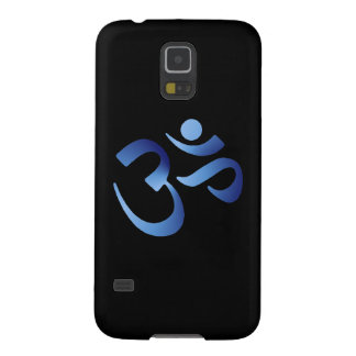 Blue Aum Galaxy S5 Case