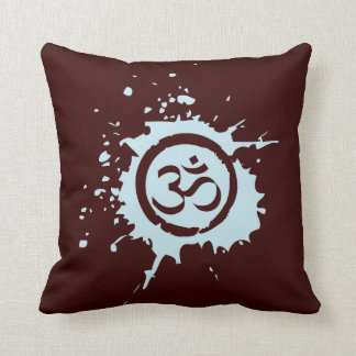 Blue Aum Organic Planet Custom Cotton Pillows