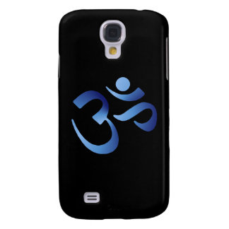 Blue Aum Samsung Galaxy S4 Cover