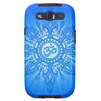 Blue Aum Star Samsung Galaxy S3 Covers