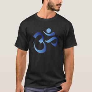 Blue Aum T-Shirt