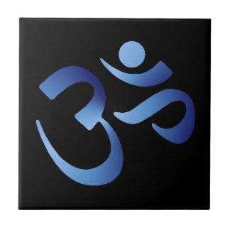 Blue Aum Tile