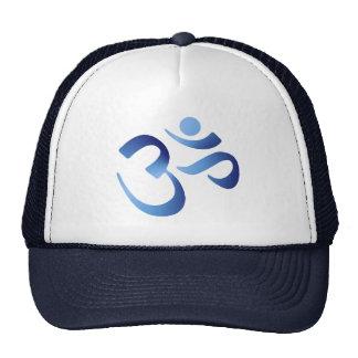 Blue Aum Trucker Hat