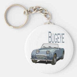 Blue Austin Healey Sprite Keychain