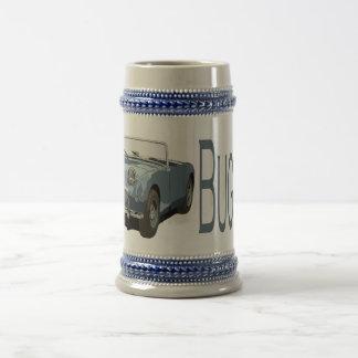 Blue Austin Healey Sprite 18 Oz Beer Stein