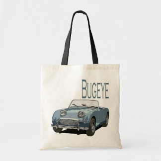 Blue Austin Healey Sprite Tote Bag