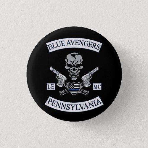 Blue Avengers MC Pin