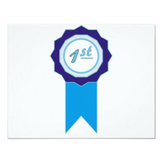Blue Award Card