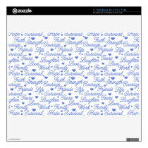 "Blue Awareness MacBook Air 11"" Skin"