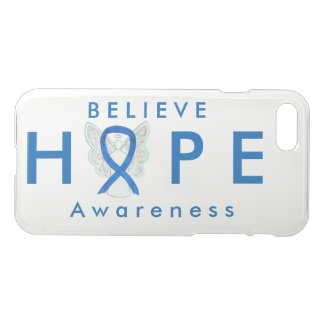 Blue Awareness Ribbon Angel iPhone 7 Hope Case